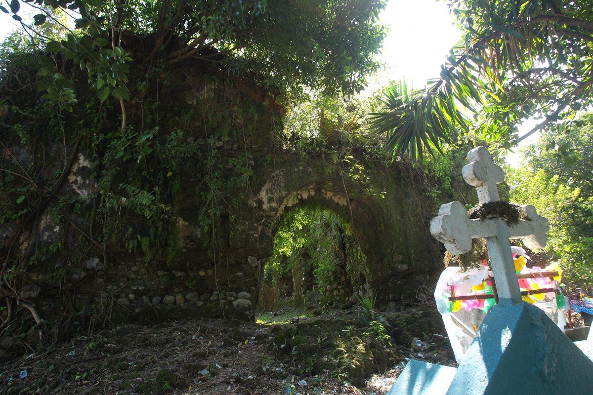 Ocultas entre la vegetación permanecen las ruinas de San Juan Perdido