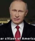 Vladimir Putin, presidente ruso, forma parte de lo nuevo de Black Mirror (Foto Prensa Libre: Twitter).