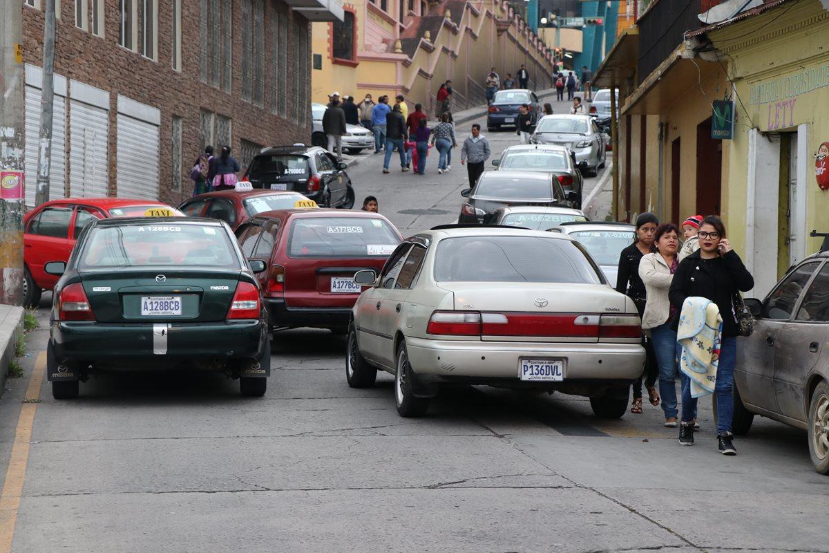 Disposición municipal agudiza conflicto entre taxistas de San Marcos y Esquipulas Palo Gordo