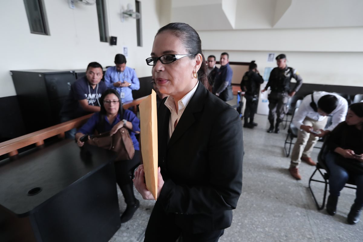 Justicia despoja a Roxana Baldetti un terreno valorado en Q18 millones