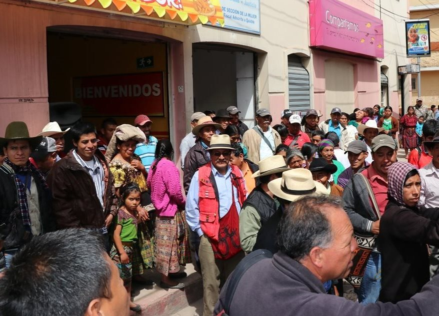 Pulso entre justicia indígena y estatal caldea ánimos en Santa Cruz del Quiché