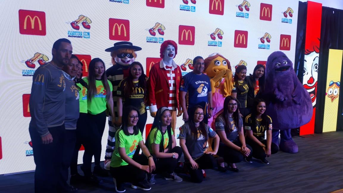 Invitan a participar en la VI Carrera Familiar a beneficio de la Fundación Infantil Ronald McDonald. (Foto Prensa Libre: Eslly Melgarejo)