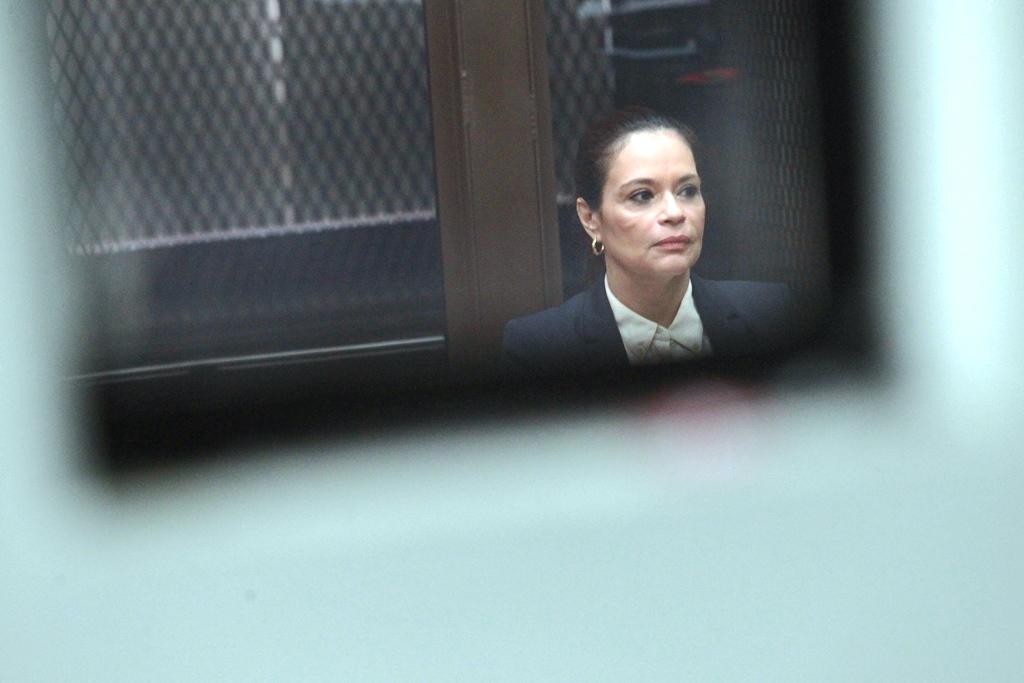 La ex vicepresidenta Roxana Baldetti no quiere enfrentar juicio por el caso Lago de Amatitlán. (Foto Prensa Libre: Hemeroteca PL)