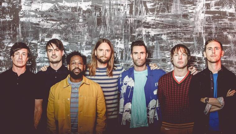 El grupo de pop Maroon 5 está listo para presentarse en Guatemala (Foto Prensa Libre: Instagram).