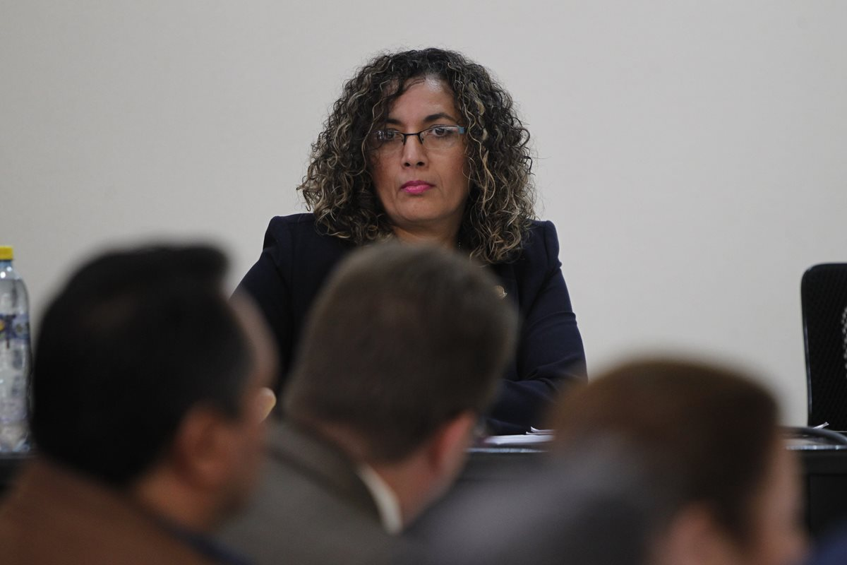 La magistrada Zonia de Paz Santizo integra la Sala Tercera de Apelaciones y fue designada como pesquisidora de Nineth Montenegro. (Foto Prensa Libre: Hemeroteca PL)