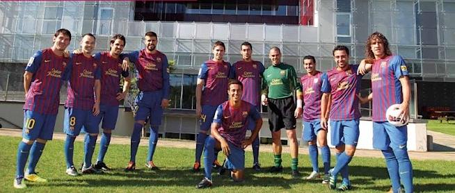 La Masia del FC Barcelona ha formado grandes jugadores como Lionel Messi, Andrés Iniesta y Xavi Hernández, entre otros. (Foto Prensa Libre: FC Barcelona)