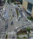 Cambio de vías en la Diagonal 6, frente al Oakland Mall, durará dos meses, según informó la Municipalidad de Guatemala. (Foto Prensa Libre: Hemeroteca)