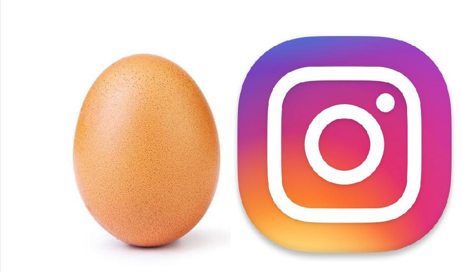 """La fotografía de un huevo es la publicación con más """"Me gusta"""" en Instagram. (Foto Prensa Libre: Instagram)"""
