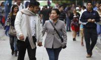 La recomendación de Conred es salir abrigado para evitar enfermedades. (Foto Prensa Libre: Hemeroteca PL)