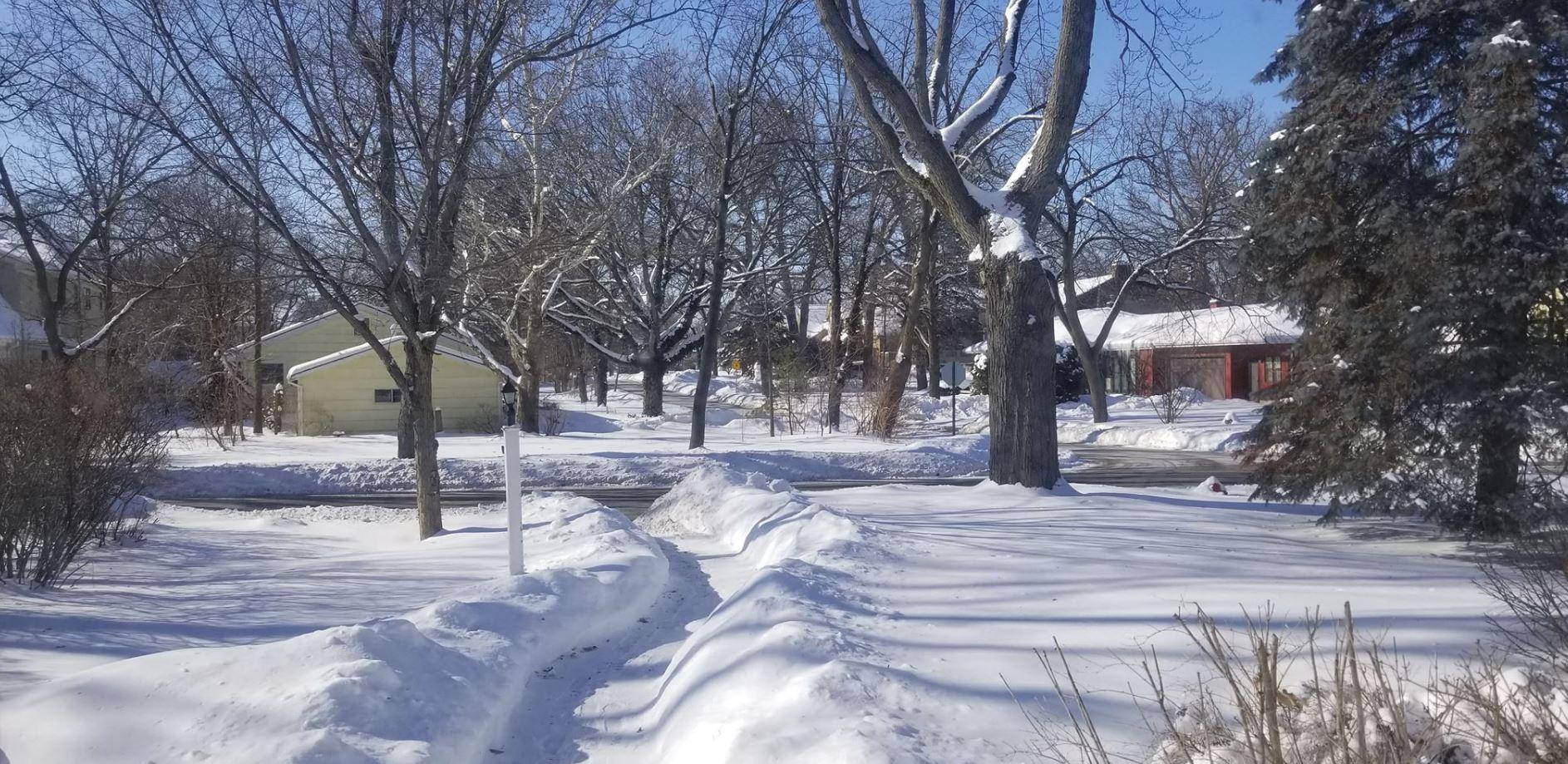 A pesar del fuerte sol el frío es extremo en Chicago y cubre de nieve y hielo las calles. (Foto: Alex Jerez)