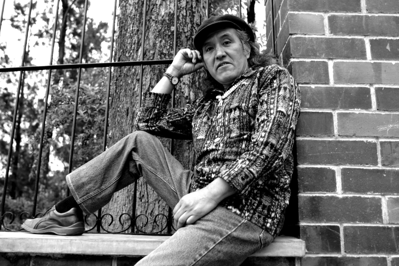 El lunes 28 de enero de 2019 fallece el  poeta Humberto Ak'abal, uno de los más grandes talentos guatemaltecos.  (Foto Prensa Libre: Hemeroteca PL)