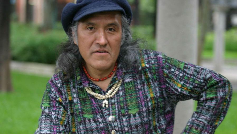 Humberto Ak'abal murió a los 67 años, por complicaciones de salud. (Foto Prensa Libre: Hemeroteca PL)