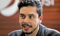 Jayro Bustamante, director, guionista y productor guatemalteco, en entrevista sobre la la próxima producción que será la pelicula de Erick Barrondo, marchista Guatemalteco.   Fotografía. Erick Avila:                     04/01/2017