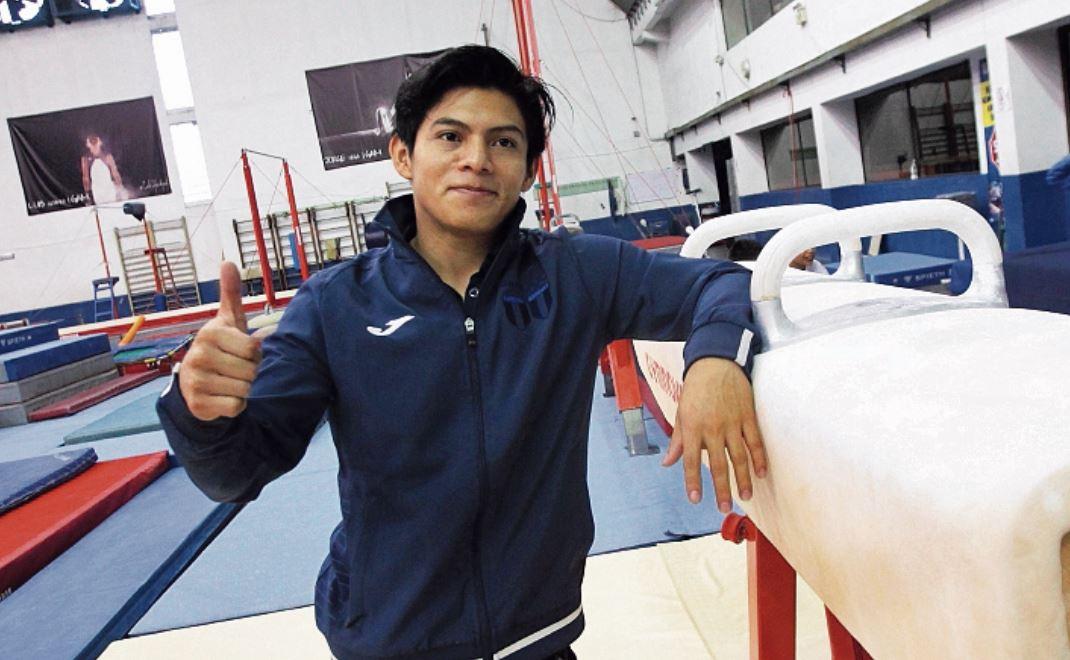 Jorge Vega mostró su buen ánimo, después de superar una lesión en la pierna derecha. (Foto Hemeroteca PL).