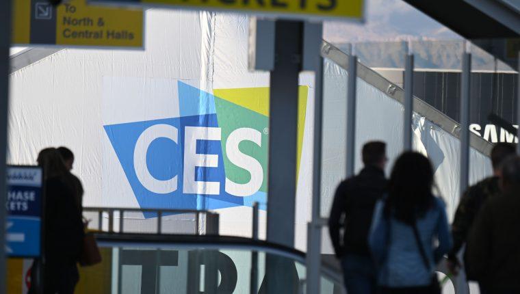 El CES es uno de los eventos de tecnología más importantes del mundo, por lo que congrega a las empresas más importantes. (Foto Prensa Libre: AFP)