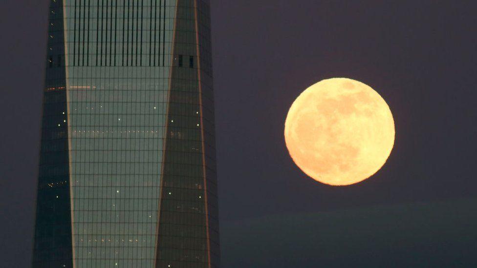 El eclipse coincidió con el máximo acercamiento de nuestro satélite a la Tierra (GETTY IMAGES)