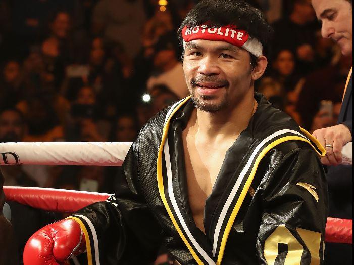 La carrera del boxeador Manny Pacquiao peligra por una lesión ocular