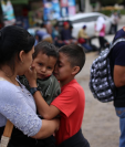 Familias enteras de Honduras han ingresado a Guatemala en busca de llegar a EE. UU. (Foto Prensa Libre: Hemeroteca PL)