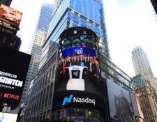 Millicom ingresa al selecto grupo de empresas que cotiza sus acciones en el Nasdaq Stock Exhange de Nueva York, bajo el símbolo Tigo. (Foto Prensa Libre: Cortesía)