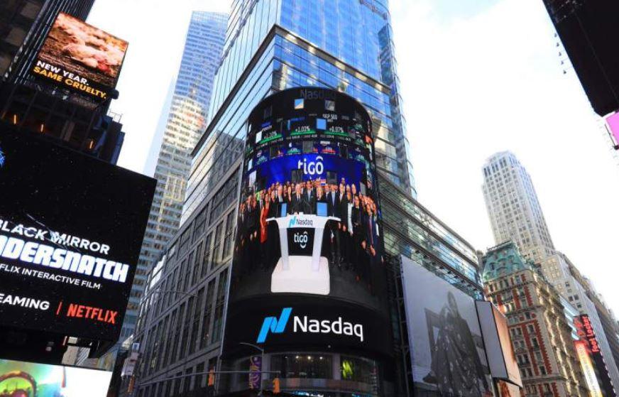 Millicom comenzó a cotizar acciones en EE. UU. bajo el símbolo Tigo