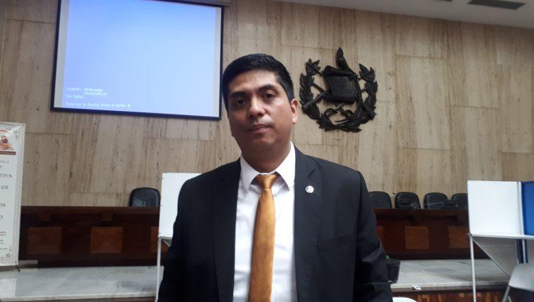 El juez Mynor Moto, presidente de la Asociación de Jueces y Magistrados. (Foto Prensa Libre:  Hemeroteca PL)