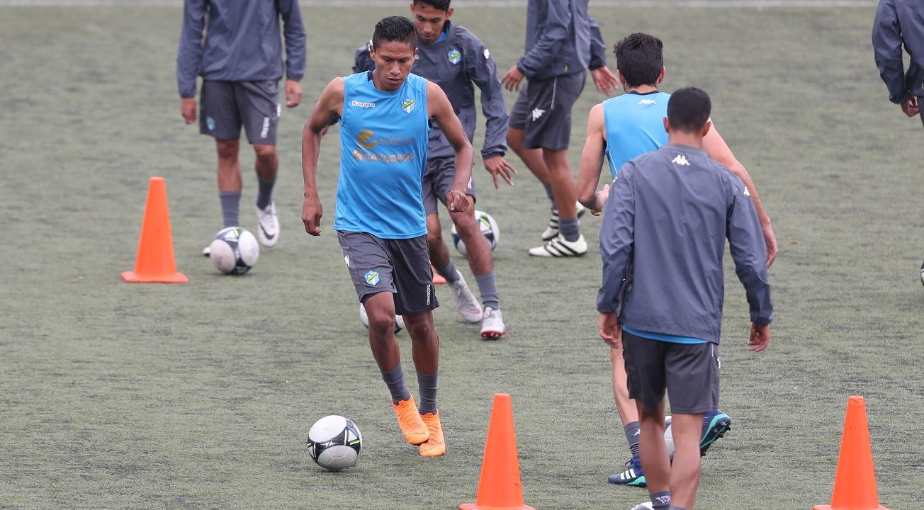 Jorge Mario Ortiz, delantero de Comunicaciones, aportar su talento y goles para el Clausura 2019. (Foto Prensa Libre: Francisco Sánchez).