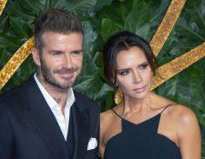 La pareja Beckham asistió a la presentación de la nueva colección de Reebok.