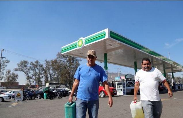 Varios estados de México han tenido que reaccionar el combustible. EPA