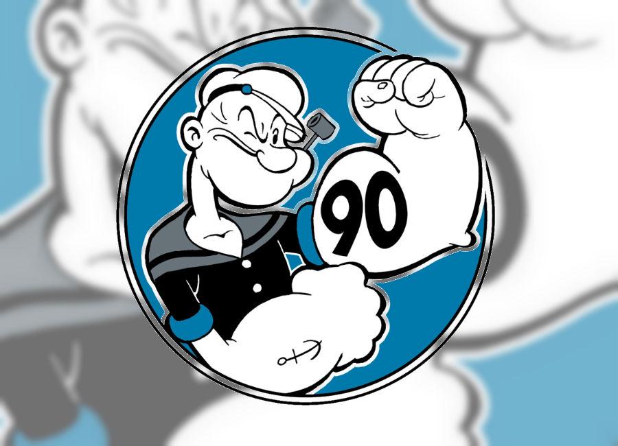 Popeye celebra nueve décadas llenas de éxito en los dibujos animado. (Foto Prensa Libre: Tomada de facebook.com/Popeye)