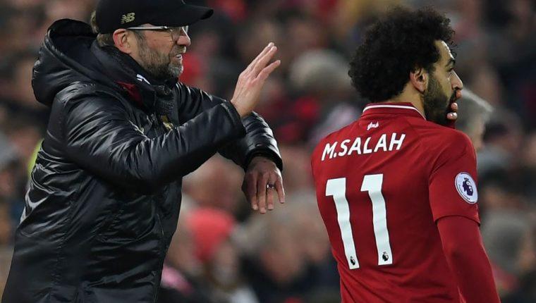 Mohamed Salah se alejó del mundo de las redes sociales y elimina sus cuentas. (Foto Prensa Libre: AFP).