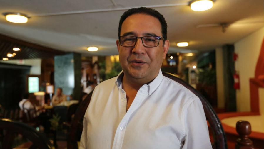 Samuel Morales busca ser candidato a diputado al Congreso en las elecciones generales. (Foto Prensa Libre: Érick Ávila)