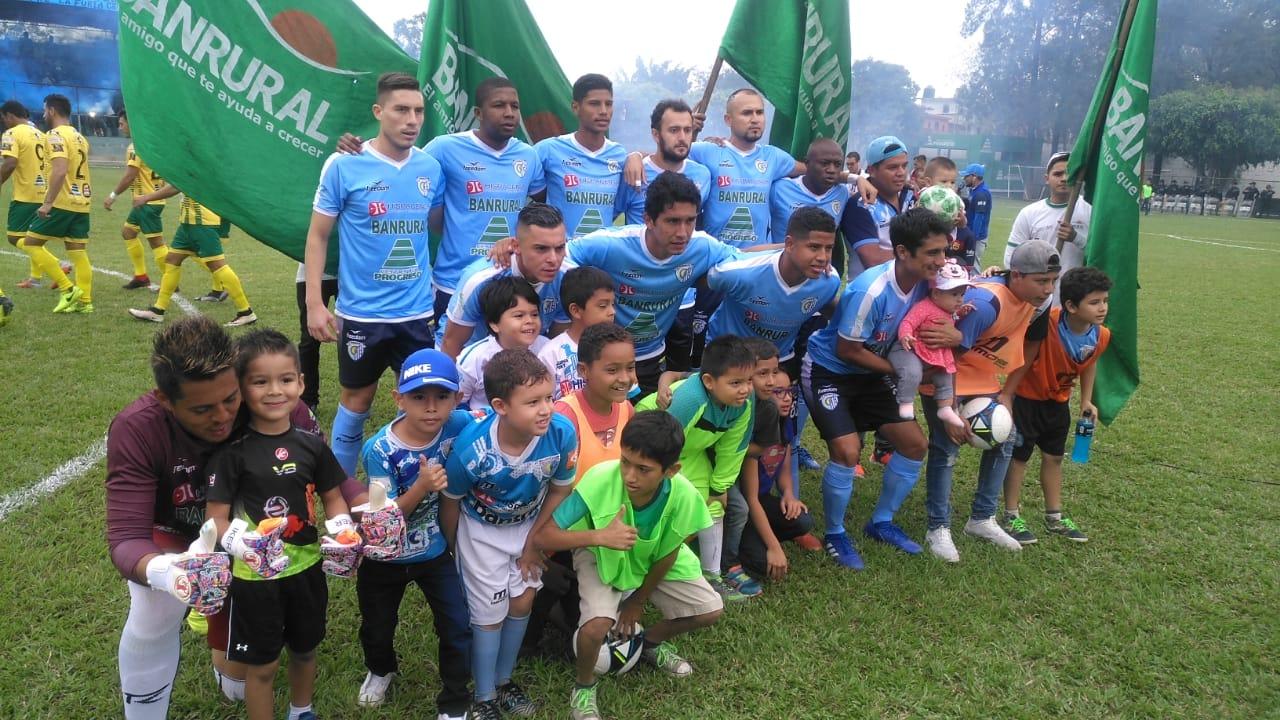 El equipo de Sanarate se impuso a Guastatoya. (Foto Prensa Libre: La Red)