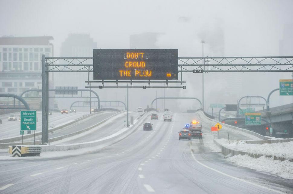 La Tormenta Invernal Jayden afecta los viajes en varias regiones de Estados Unidos. (Foto Prensa Libre: AFP)