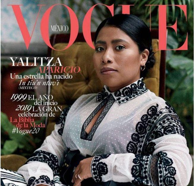 Yalitza Aparicio aparece en la portada de Vogue México (VOGUE MÉXICO)