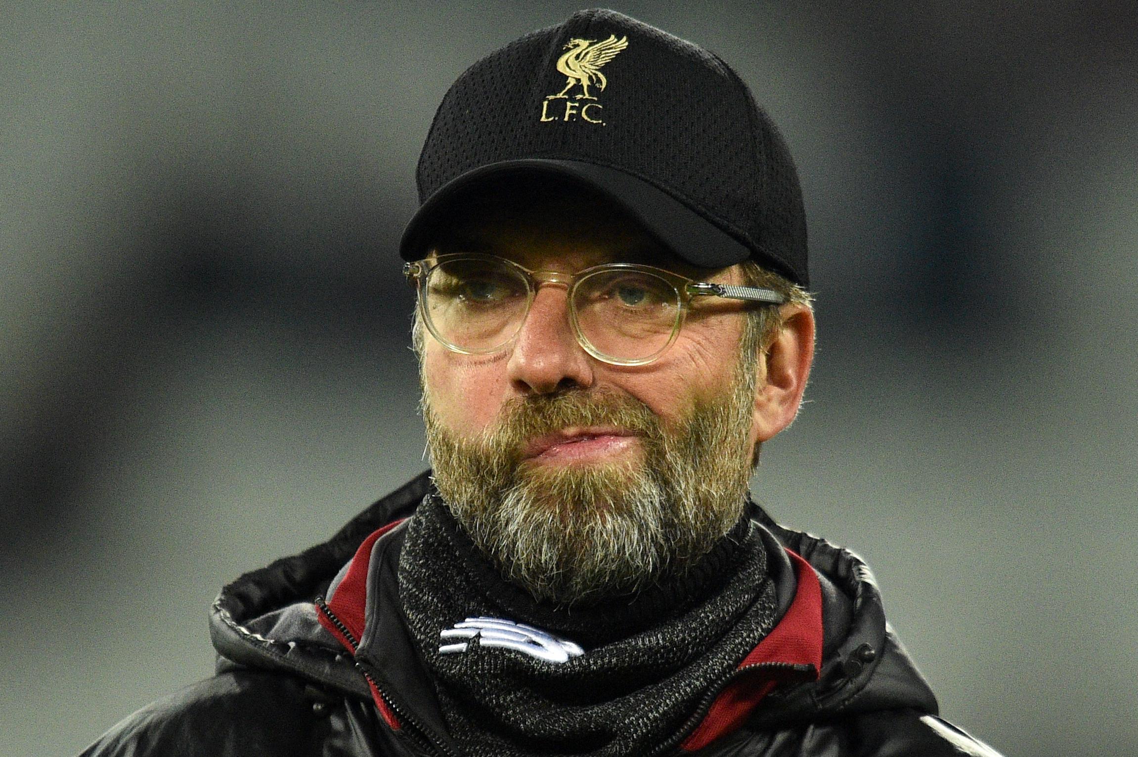 Jurgen Klopp muestra su disgusto después del empate del Liverpool contra el West Ham. (Foto Prensa Libre: AFP)