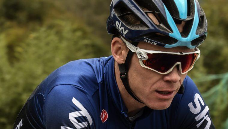 Chris Froome inicia la temporada 2019 en las montañas de Colombia.    (Foto Prensa Libre: AFP)