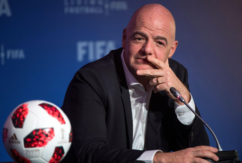 GiannI Infantino tiene es respaldo de la mayoría de países que integran la Fifa. (Foto Prensa Libre: AFP)