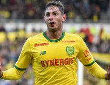 Los problemas por el contrato de Emiliano Sala continúan entre el Nantes y el Cardiff. (Foto Prensa Libre: AFP)