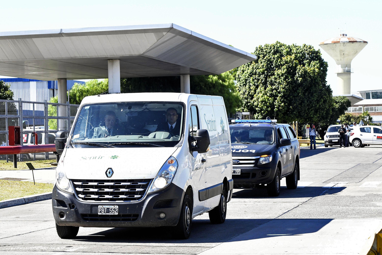 El cuerpo de Emiliano Sala fue transportado a su pueblo natal, El Progreso, en Santa Fe, Argentina. (Foto Prensa Libre: AFP)