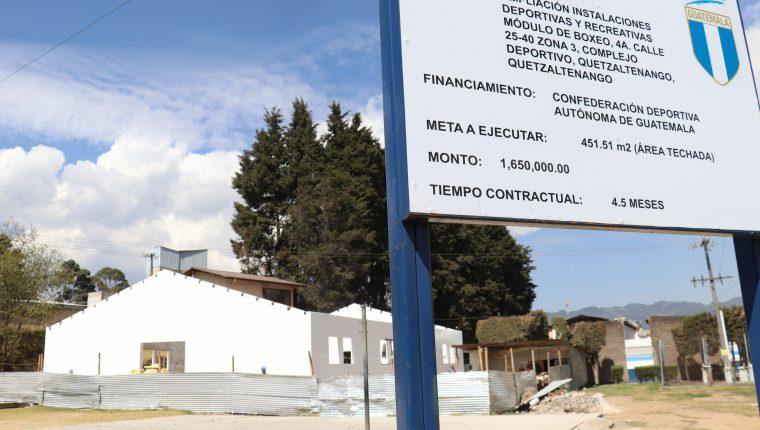 Deportistas esperan que el proyecto pueda reflejar los costos de la inversión para contar con un gimnasio con todas las comodidades. (Foto Prensa Libre: Raúl Juárez)