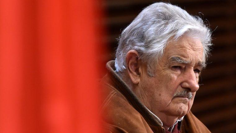 José Mujica: el expresidente uruguayo plantea elecciones generales como alternativa a una guerra en Venezuela. AFP