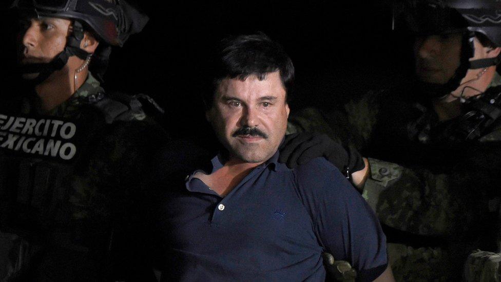 """""""El Chapo"""" Guzmán puede recibir una sentencia a cadena perpetua si es hallado culpable. AFP"""