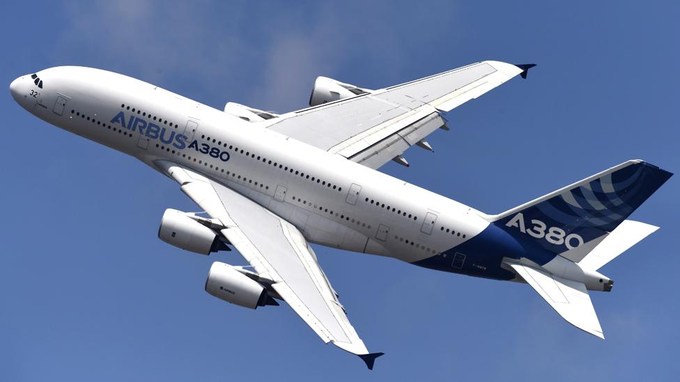 El Airbus A380 es el avión de pasajeros más grande del mundo. GETTY IMAGES