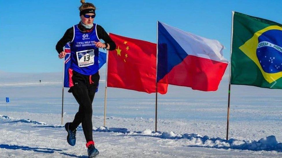 El primer maratón se corrió el pasado 31 de enero en la Antártica.