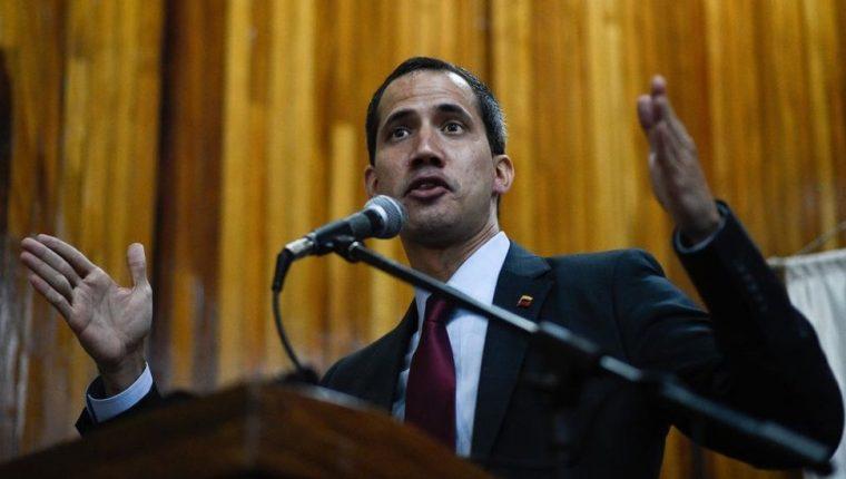 Guaidó se convirtió en el rostro visible de la oposición a Maduro. GETTY IMAGES