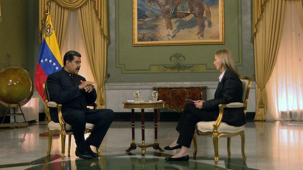 Maduro hizo varias afirmaciones controvertidas en su entrevista con Orla Guerin.