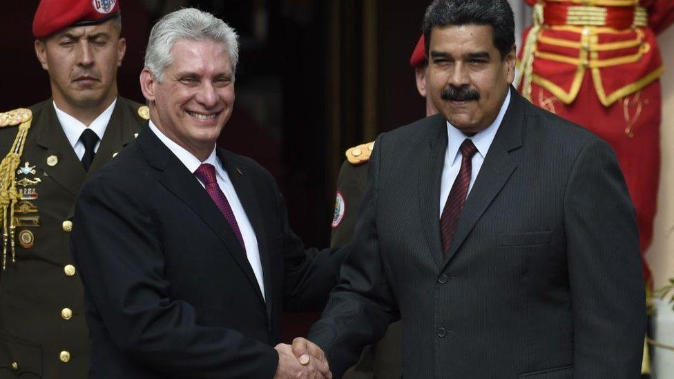 La alianza entre Cuba y Venezuela ya suma 20 años. GETTY IMAGES