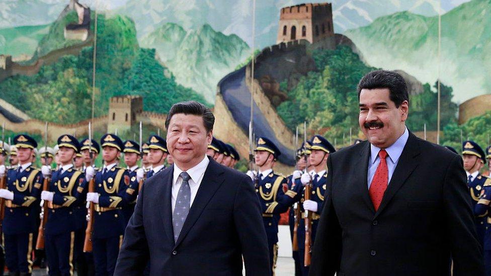 La relación entre Xi y Maduro se remonta a la época de Chávez, cuando el actual presidente venezolano era el canciller. GETTY IMAGES