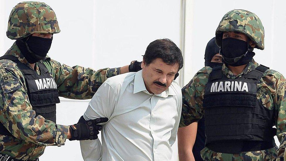 """Joaquín Guzmán Loera, """"El Chapo"""", fue capturado en México y enjuiciado en Estados Unidos. GETTY IMAGES"""