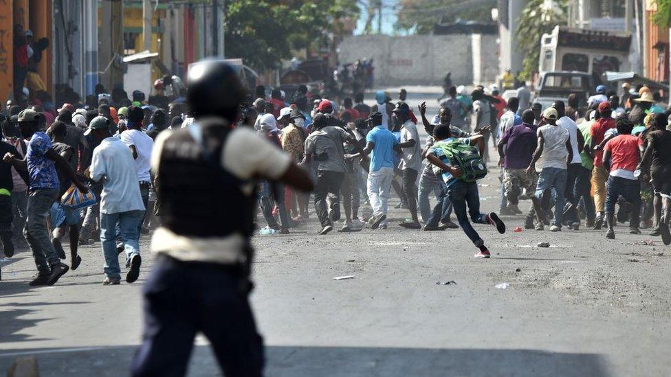 Haití vive más de una semana de crisis política. AFP